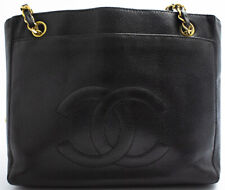 CHANEL CHAIN SHOULDER BAG SHOPPER SCHULTERTASCHE MATELASSE TASCHE CAVIAR SKIN 1