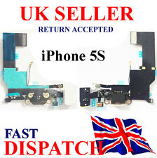 Replacement Dock Port Flex Charging iPhone 5S 821-1667-A Headphone Jack  BLACK