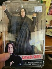 NECA Harry Potter Deathly Hallows Severus Snape 7 Inch Action Figure Sealed New