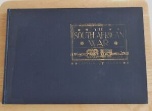 THE SOUTH AFRICAN WAR by Capt A T Mahan C. 1900 Pub MCMII Very Good Condition