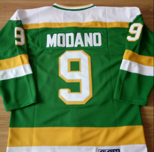 Minnesota North Stars Green Mike Modano Jersey M, L, XL, 2XL, 3XL