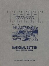 'Millstream'  Vintage Butter Wrapper. HL4.558