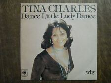 TINA CHARLES 45 TOURS HOLLANDE DANCE LITTLE LADY DANCE