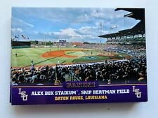 ALEX BOX STADIUM Lot x15 2015 Panini Collegiate Multi-Sport LSU Tigers #8