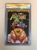 Avengers Ultron Forever #1 Scottie Young Variant Cgc 9.8 SS signature Autograph