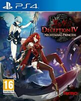 Deception IV: the Nightmare Princess PS4 Playstation 4 Brand New Sealed