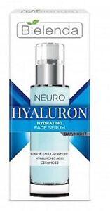 Bielenda Neuro Hyaluron Neuromimic Rejuvenating Face Serum Day Night 30ml