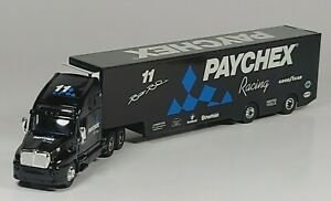 """Racing Champions Kenworth Transporter Truck Semi 13"""" Diecast Scale Model Paychex"""