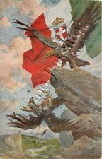 Prima guerra mondiale - Aquila italiana, aquila tedesca / illustratore Marchisio
