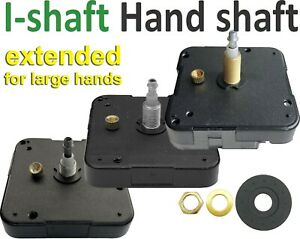 Quartz movement, I-shaft, Extended High torque for large hands, Young Town 12888