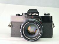 【As-is】Minolta SR 505 w/ Mc Rokkor Pf 50mm f1.7 from JAPAN