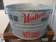 "Vintage Beer Cooler, "" Walter'S "" Beer"
