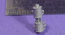 S SCALE Sn3 1/64 WISEMAN MODEL SERVICES DETAIL PARTS: S373 LOCOMOTIVE AIR PUMP