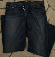 7 Seven For All Mankind Relaxed Straight Leg Jeans Men's Size 38x34 Tall