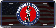 National Guard Novelty Car License Plate A3