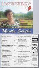 CD--MARIKA SOBOTKA--I LOVE VIENNA
