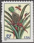 Scott # 3127 - Merian Botanical Prints - U.S. Single - MNH - 1997