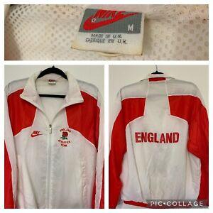 Rare Vintage Nike England Soccer Futbol Jacket Windbreaker 90's OG Athletics
