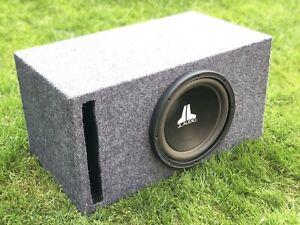 JL Audio 10W6v2-D4 subwoofer and box.