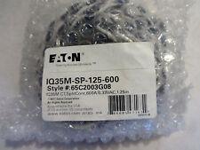 NEW  EATON IQ35M-SP-125-600 CURRENT TARNSFORMER STYLE 65C2003G08