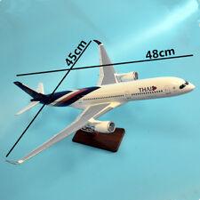1:155 Fibreglass Resin Large Aircraft Plane Model Thai Airbus A350 45cm