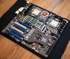 Intel Skulltrail D5400XS motherboard, dual Extreme QX9775, 32GB 800mhz FBDIMMs