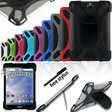 """Silicone Soft Back Stand Shockproof Cover Case For 7"""" 8"""" 10"""" Acer Iconia Tab"""