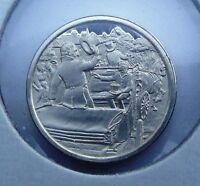 Franklin STERLING SILVER Mini-Ingot: 1824 Lafayette Revolutionary Hero's Tour
