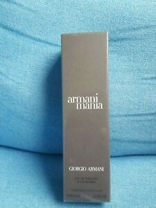 ARMAN MANIA POUR HOMME 100ml EDT BRAND NEW AND FACTORY SEALED DISCONTINUED
