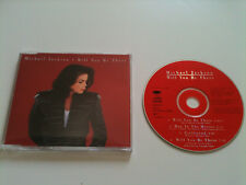 Michael Jackson-Will You Be There-MAXI CD SINGLE © 1992 (très bien)