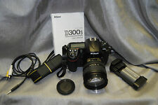 Nikon D300S 12.3 MP SLR camera w/3.0 inch LCD w/Lens (NO CHARGER)