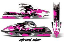 AMR RACING JET SKI GRAPHIC DECAL KIT KAWASAKI STANDUP JETSKI 750 92-98 STAR PINK