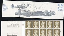 Gb 1981 £1.15 folded booklet Sgfi1A cyl B5,Sgx983 selvedge left mint stamps