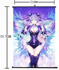 Hot Japan Anime Game Hyperdimension Neptunia Home Decor Wall Scroll  21*30CM 012