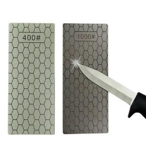 1000# 400# Diamond Knife Sharpening Stone Polished Whetstone Polishing Tools New