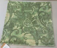 """NWT Pottery Barn Tonal Green SCARLETT VELVET Pillow Cover 22"""""""