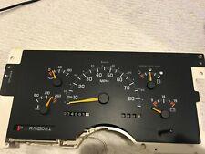 88 Thru 1994 DIESEL Chevy GMC 1500 2500 3500 Speedometer Cluster Gauges  OEM 74K