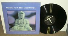 TONY SCOTT Music For Zen Meditation, original Verve vinyl LP, 1964, VG