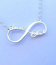 Personalized Infinity Name Necklace Sterling Silver Infinity - Best Price.