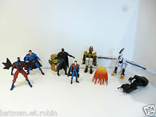 ☺ Lot De Figurine Batman, Super Man, Power Rangers Spiderman