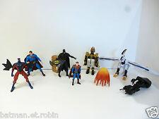 ☺ Lot De Figurine Batman, Super Man, Power Rangers Spiderman
