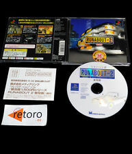 RUNABOUT 2 playstation PSX Play Station PS1 JAPONES