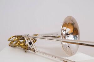 Stomvi Titan TB5500 Bass Posaune Trombone wie Conn 62h 73h Bach 50 King 7b WOWOW
