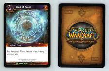 Ring Of Frost #52/220 - Twilight Of The Dragons Uncommon Warcraft 2011 TCG Card