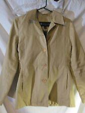 Women's Jacket XS Kennith Cole Reaction Color beige Tan Career Lot#2