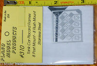 Plano #310 Placard Frames -- for: Tank Cars 2 Styles in pkg (HO Scale)