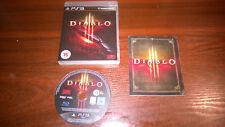 Sony Playstation 3 PS3-Diablo III 3 #G41 Boxed