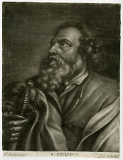 Antique Print-SAINT PAUL-SWORD-APOSTLE-Vaillant-ca. 1670