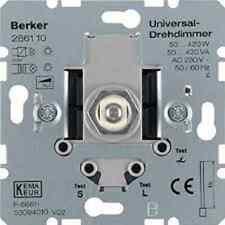 Universal Drehdimmer BERKER Typ 286110 up 230V mit Softrastung