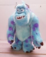 """Disney Store Monsters Inc Talking & Roaring Sully Plush 13"""" Fully Working"""